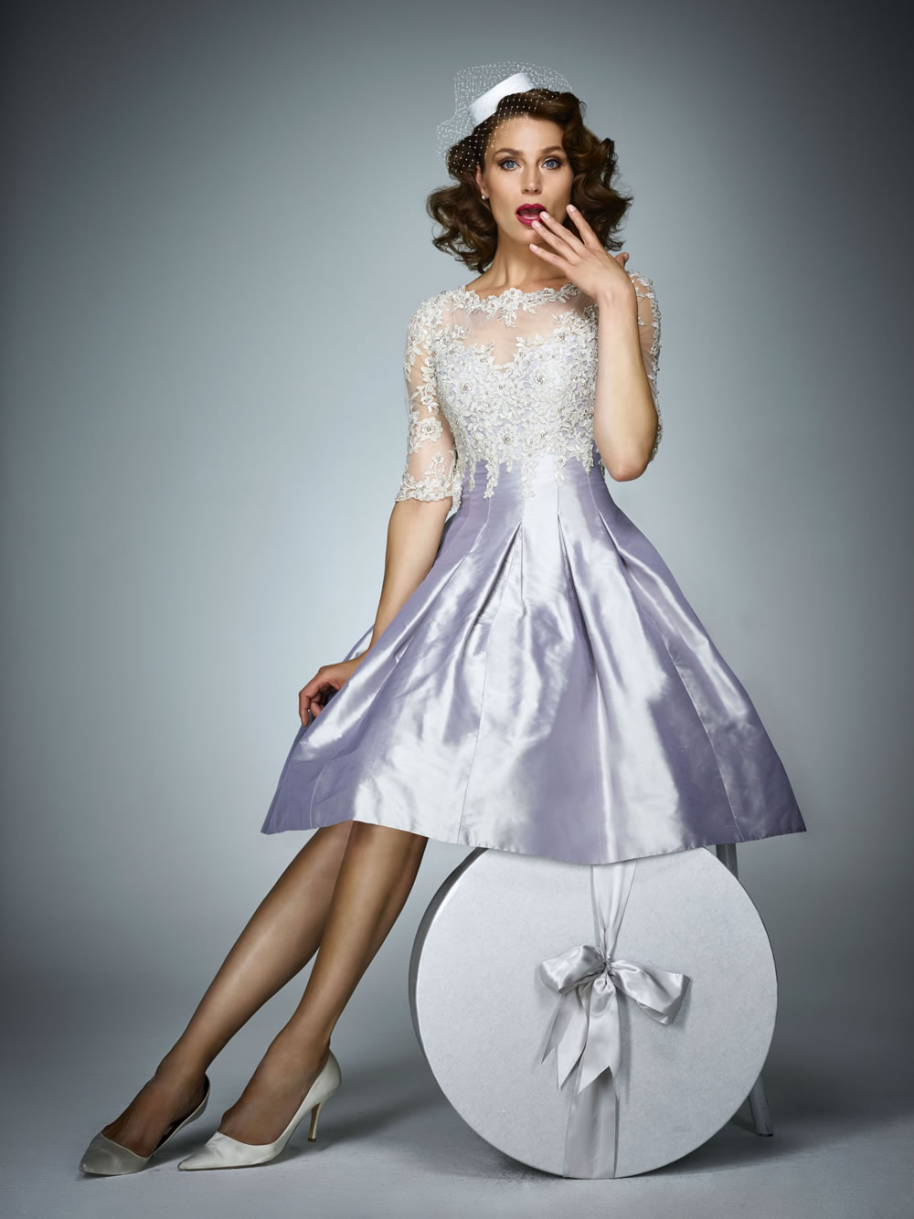 Ian Stuart - Pink Dress -